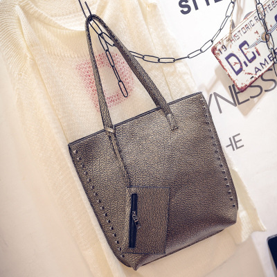 2015 hot sale New fashion Tassel CHEAP Bags Women Branded Leather Rivet Handbag Shoulder school bags Messenger Bag Tote(China (Mainland))