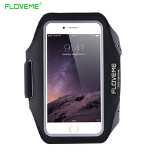 FLOVEME Waterproof Sport Arm Band Case For Samsung Galaxy S5 S6 S6 Edge/Plus S7 Edge S4 Note 7 5 4 3 A5 A7 A8 Clear Touch Cover(China (Mainland))
