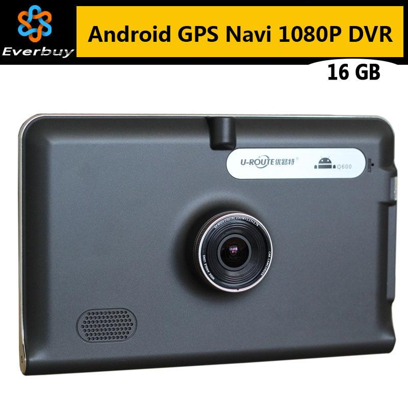 Android 7 inch Car GPS Navigation Car dvrs Camera Recorder Europe or Russia Navitel map Truck vehicle gps Navigator sat nav 16GB(China (Mainland))