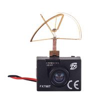 FX798T 5.8G 25mW 40CH Mini Transmitter Camera Combo For FPV Multicopter Quadcopter Camera Drone Accessories