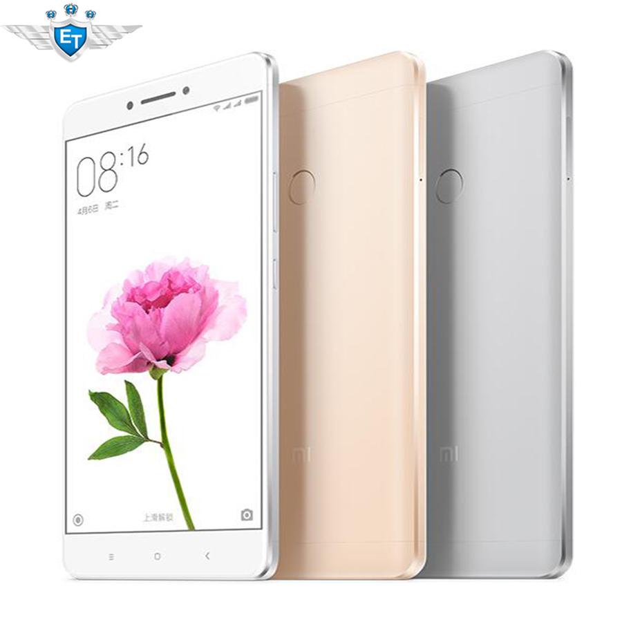 "Original Xiaomi Mi Max 6.44"" Cell Phone 4G FDD Snapdragon 652 Octa Core 4850mAh 3G RAM 64G ROM 16.0MP Fingerprint(China (Mainland))"