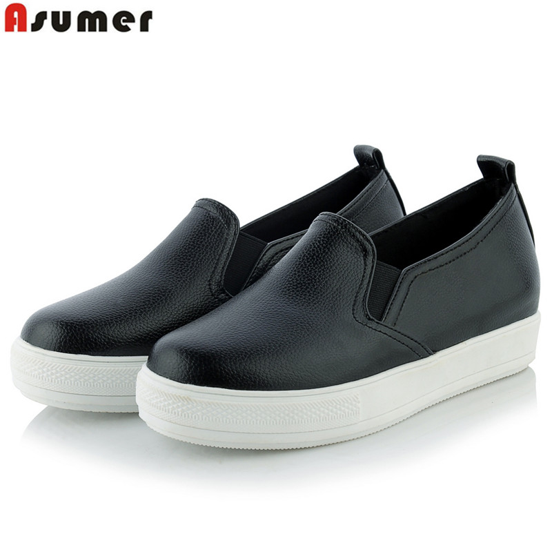Plus size 34-44 new fashion women Loafers flats high ...