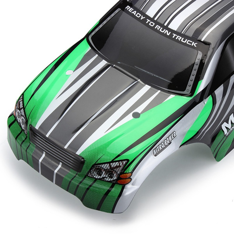 Hot Sale HSP 1/10 RC Off-Road/Truck/Car/Buggy Canopy Shell Truck Painted Plastic Shell Body Shell