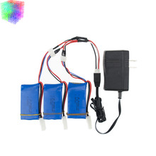 Buy Lipo battery 7.4v 2s 1500mAh batteries 3pcs charger Feilun FT009 2.4G RC Racing boat Spare Parts wholesales for $32.30 in AliExpress store
