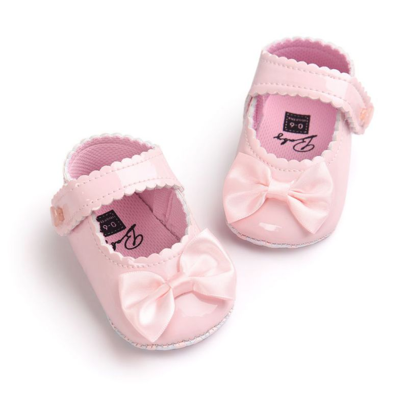 Big Discount Infant Baby Shoes Girls Boys Soft Sole PU Leather First Walkers Moccasins Crib Bow Shoe 0-18 Months#2841(China (Mainland))
