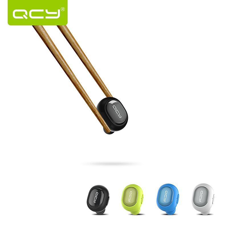 2016 Original QCY Q26 Ipx2 water proof Wireless Bluetooth 4.1 Earphones Mini Stereo Earbuds Smallest Lightest Earphone Only 4.9g(China (Mainland))
