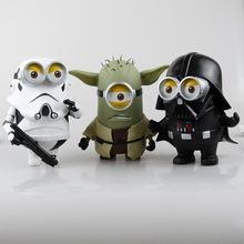 Star Wars small yellow white black knight soldier DADDY DADDY DADDY Yoda three optional