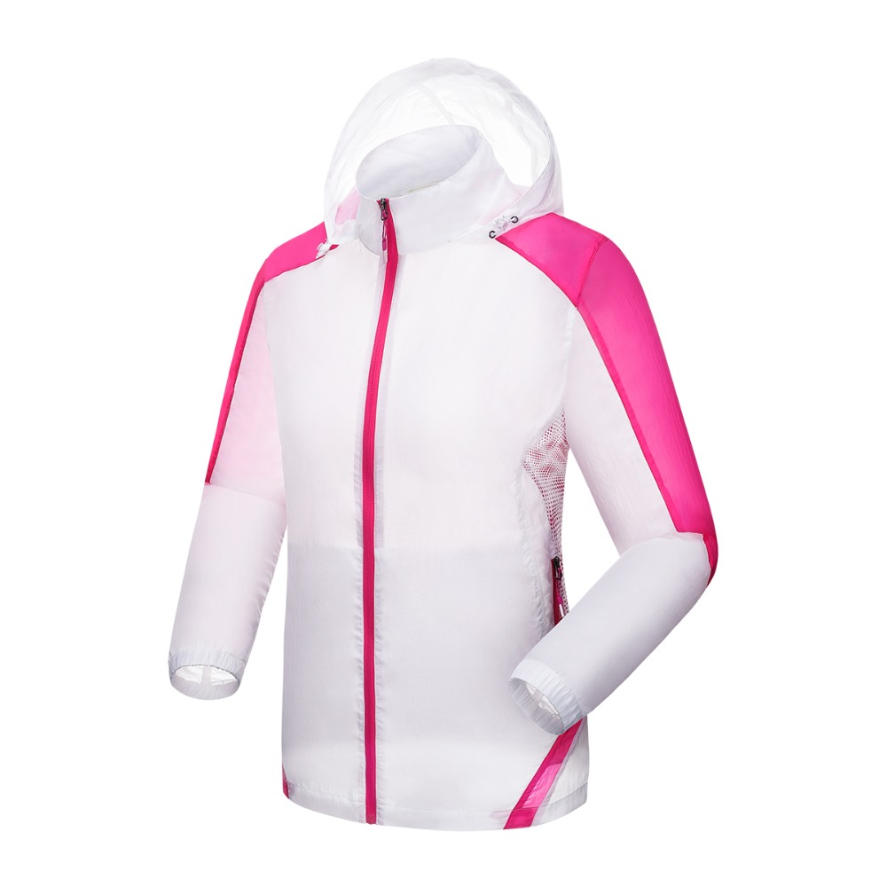 Spring Summer Women Skin Jackets Girls Lightweight Thin Breathable Quick-dry UV Protective Coat Outdoor Sport Beach Hiking M-3XL<br><br>Aliexpress
