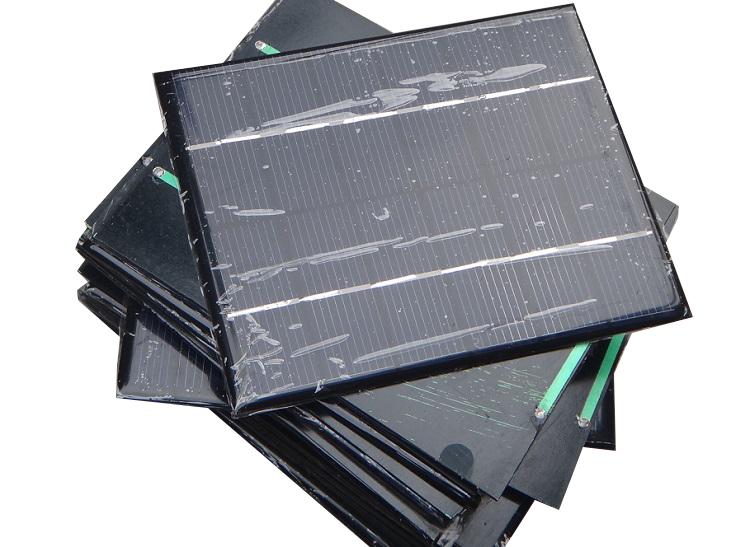 10Pcs/Carton Polycrystalline solar panel PV solar panel 6V2W 2 watts A Class Solar cells High quality<br><br>Aliexpress