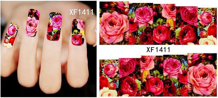 Factory Wholesale 1 Sheet French Design Water Transfer Tips Nail Art Decorations Nail Sticker Manicure Nail Decal Nail Tools(China (Mainland))