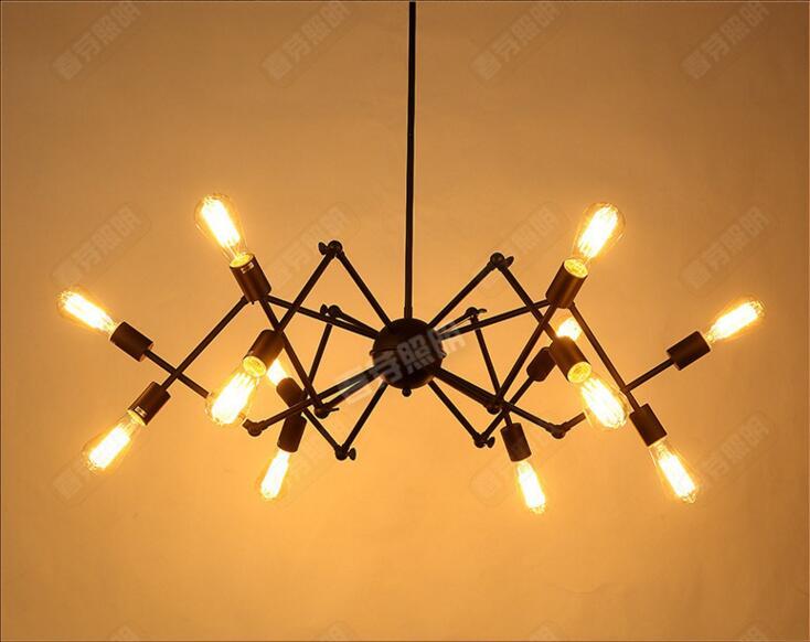 achetez en gros araign e lampe en ligne des grossistes araign e lampe chinois. Black Bedroom Furniture Sets. Home Design Ideas
