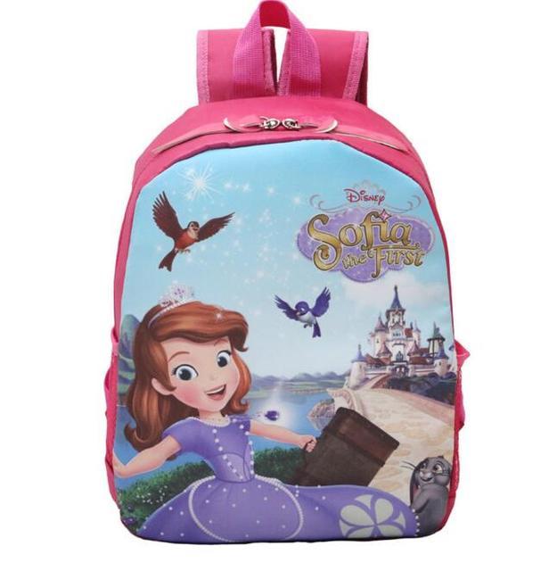 Принц принцесса эльза софия покемон школы дети девушки сумка мальчики мультфильма ...
