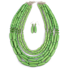 Acrylic Bead Necklace Wholesale New Fashion Classic Statements Chokers Jewelry For Women Maxi Necklace  6990(China (Mainland))