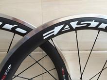 Buy carbon wheels 700C carbon 50mm alloy clincher rim 3k matte clincher alloy brake surface carbon fiber Road Bike Wheelset 700C for $355.00 in AliExpress store