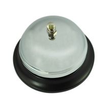 Classic Service Concierge Hotel B & B Desk Call Steel Bell(China (Mainland))