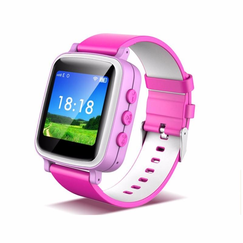 ถูก Q80เด็กGPS Watchสมาร์ทสมาร์ทเด็กGPS Watch GPS/GSM/Wifi T Ripleตำแหน่งตรวจสอบแบบDual-wayโทรSOSปลุกนาฬิกา