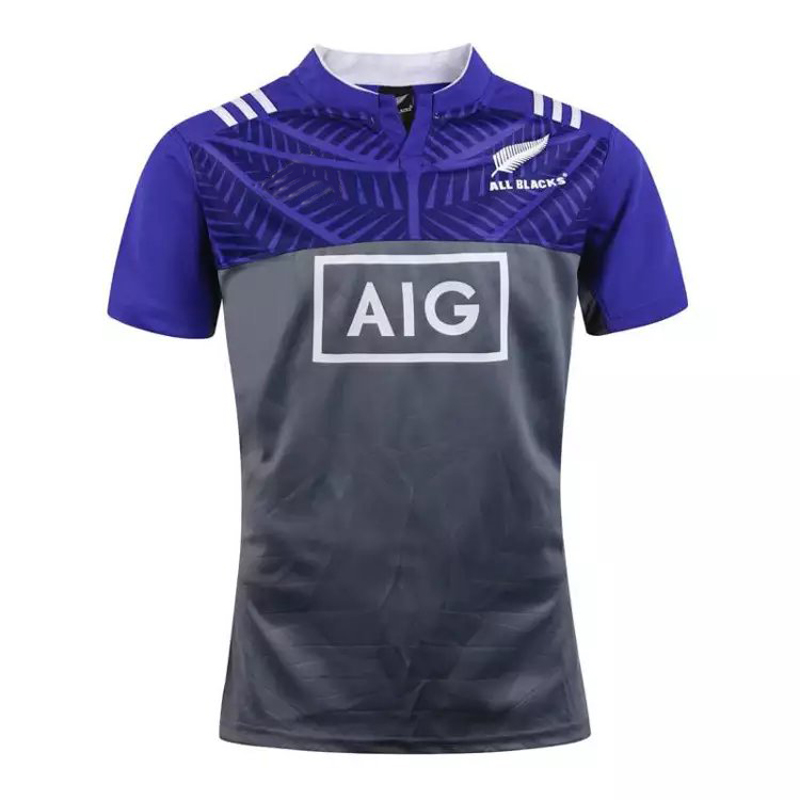Best Quality New Zealand 2016 training Men's rugby Jersey Super Rugby New Zealnd training 2017 rugby shirts(China (Mainland))