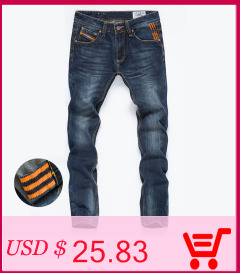 Fashion Italy Men's Jeans Casual Leisure Pants Hole Skinny Designed Jeans Men Cotton Slim Blues Denim Long Trousers Top Quality