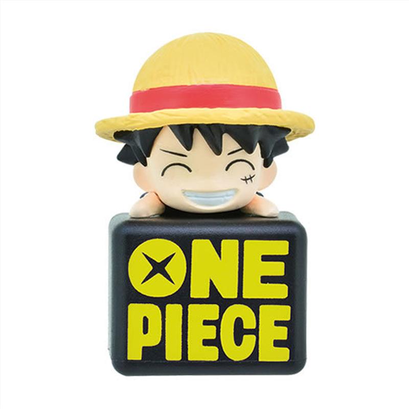 New Anime One Piece Dust Plug Mini Pvc Figures Toys Trafalgar Law Luffy Sabo Chopper Sugar 5pcs/set Action Figure(China (Mainland))