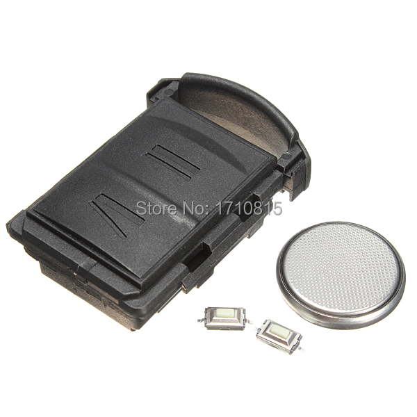 2 Button Remote Key Fob Case Shell Switch+ Battery DIY Repair Kit For Vauxhall Opel Corsa Combo(China (Mainland))