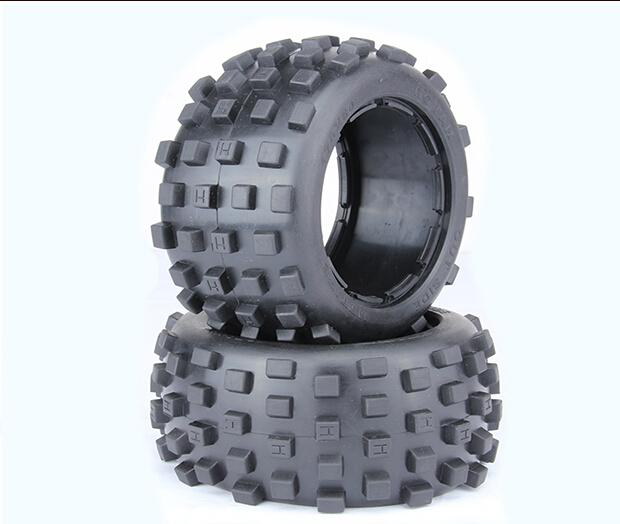 Rovan 1/5 Baja 5B Rear Knobby tires Baja Badland road baja Tyres Rear 1/5 scale HPI Baja 5b 95002
