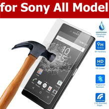 0.33mm 9H Tempered Glass Film sFor Sony Xperia Z5 Z4 Z3 Z2 / Compact / Mini / E4 / M2 / Dual Screen Protector For Sony All Model