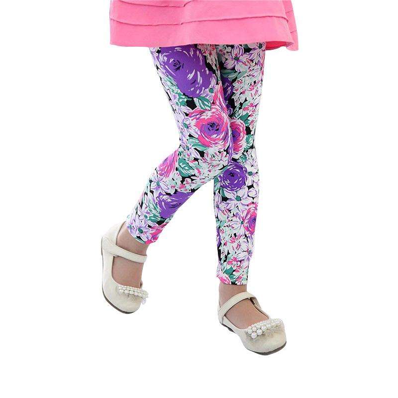 Гаджет  profit Only Earn Reputation free shipping high quality 1pc retail 2-7 years girl legging flower colors leggings for option None Детские товары