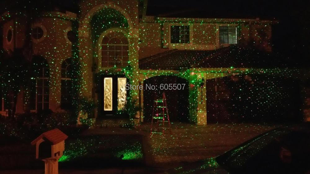 Image gallery outdoor laser christmas lights for Lumiere de noel exterieur