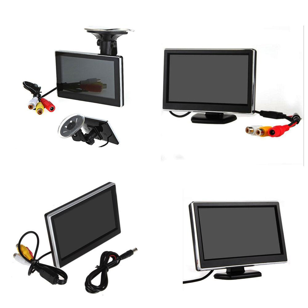 4.3 Inch TFT-LCD Car Rearview Monitor Car DVD Monitor Color LCD  Mini Car Monitor for Car/Automobile/Vehicel Backup Camera