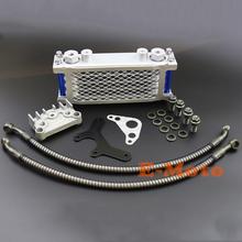 Oil Cooling Cooler Radiator for 125 140 150 160cc  Horizontal Engine Dirt Pit Monkey Bike ATV Motorcycle BOSUER KAYO APOLLO(China (Mainland))