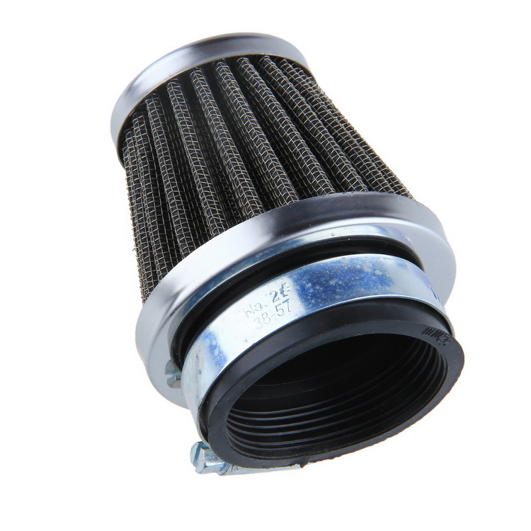 Universal ATV Air Filter Motorcycle Motorbike Replacement Air Filter Cleaner 52mm Free shipping(China (Mainland))