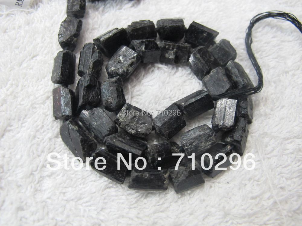 10 strings/lo 9-15 mm Natural Black Tourmaline Gemstone Loose Beads Fit DIY Jewelry Necklace 16 Free shipping<br><br>Aliexpress
