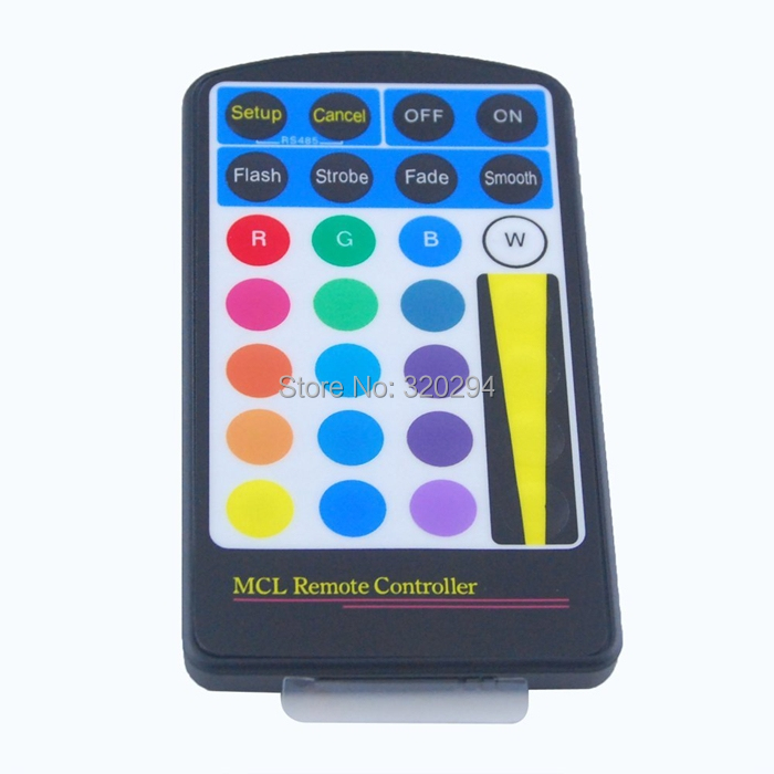 28 Keys IR Infrared Wireless Remote Control Controller for 5W 100-240V 16 Colors LED RGB Spotlight Bulb Lamp Ceiling Lights(China (Mainland))