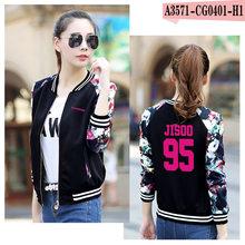 New Baseball Jacket Black Pink KPOP Blackpink In Your Area Album LISA JENNIE JISOO Letter Print Fans Clothes K-POP Jacket Coats(China)