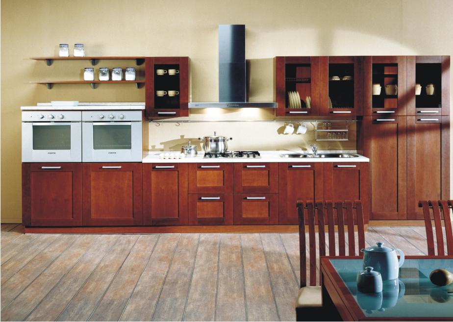 2015 libere el dise o personalizado muebles para cocina for Muebles de cocina de madera maciza catalogo
