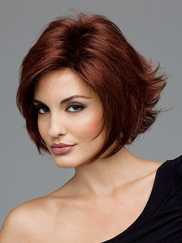 In Stock Fashion Women Wigs Top Quality Heat Resistant Synthetic Short Red Wigs(China (Mainland))