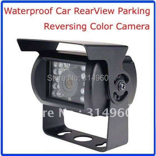 Waterproof Car rearview Backup Parking CCD Camera night vision + 10M Video Cable 20pcs/lot