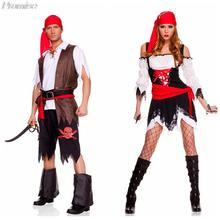 New Arrival Cosplay Couples Family Pack Pirate costume Christmas Costumes for Women party girl dress RPG clothes