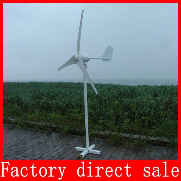 Wind generator Wind Turbine Generator Kit 800W Max 24/48V Auto High Quality With CE ISO9001 Certification+3 Years Warranty(China (Mainland))