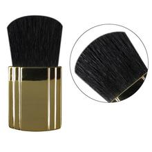 2015 new Gold Soft Blusher Brush Compact Makeup Powder Blusher Goat Hair Blusher Blush Cosmetic Foundation Power Brush