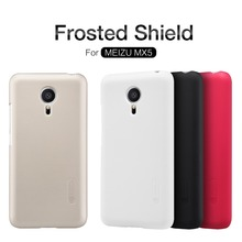 Meizu MX5 case NILLKIN Super Frosted Shield back cover case for Meizu MX5 with free screen protector and Retail package