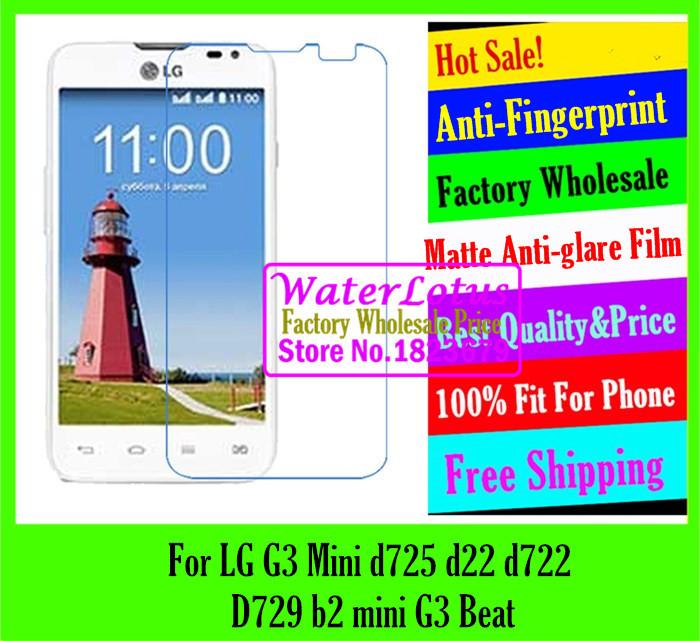 LG G3 Mini d725 d22 d722 D729 b2 mini G3 Beat Matte Anti-glare mobile protective film screen protector de pantalla projector