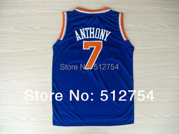 #7 Carmelo Anthony Jersey,New Material Rev 30 Basketball jersey,Best quality,Authentic Jersey,Size S--XXXL,Accept Mix Order