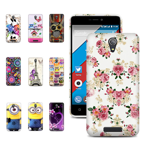 OnSale ! Flora Gossly Printed Case TPU Soft Gel Back Cover For Highscreen Power Five Phone Case Holder Phone with Gift(China (Mainland))