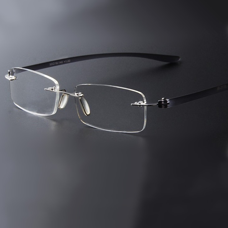 Rimless Eyeglass Frames 2015 : Aliexpress.com : Buy 2015 Brand designer Vintage light ...