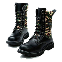 2015 TOP PUNK Rock COOL# Men's Fashion Motorcycle Hiking Army Boot# PU leather climbing boots EUO39-45