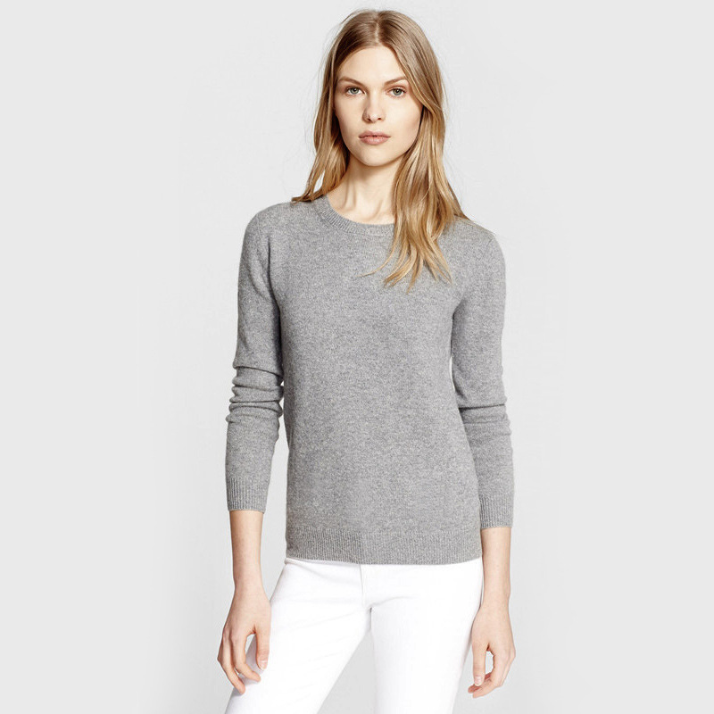 New 2015 Winter Sweater Women Wool blend knitted sweater o neck long sleeve base sweater women sweaters and pullovers