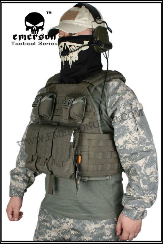 1000D Cordura Emerson SPC Tactical vest Tactical Vest Airsoft Painball Military Army Combat Gear