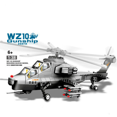 Export In Genuine Fighter Intelligence Model Of Aircraft Assembling Building Block Toy Wholesale(China (Mainland))
