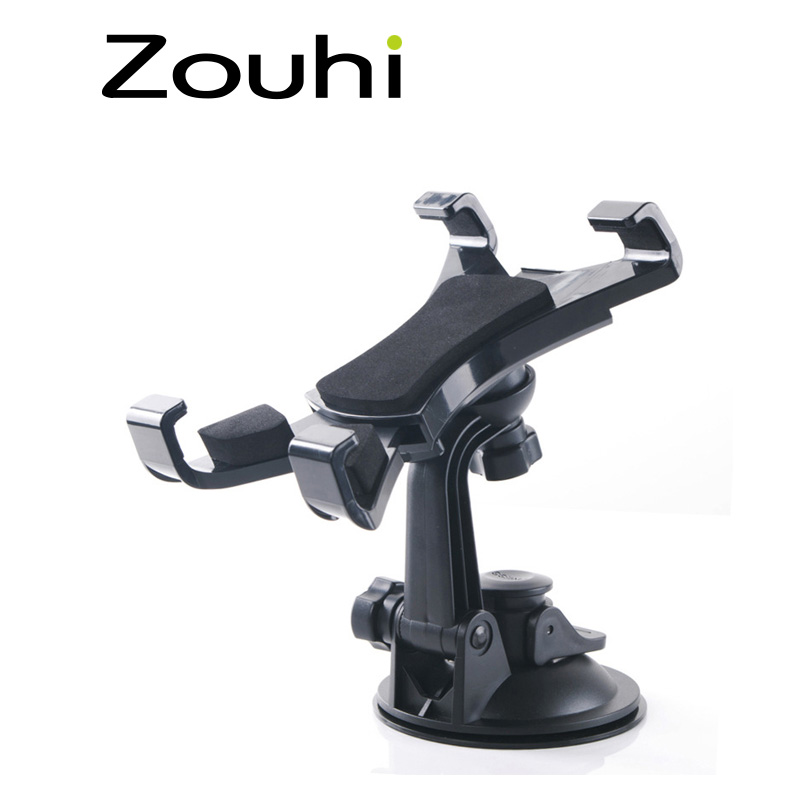 7-10 inch Universal Car Windshield Suction Tablet Mobile Phone Mount Holder Stand For iPad/iPhone/Samsung Tab/GPS Rotary Free(China (Mainland))